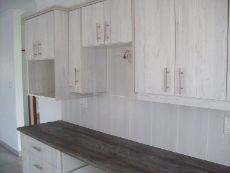 kitchen tops and cupboards