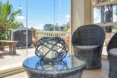 Sun room flows onto the terrace