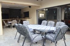 Open and covered patio areas