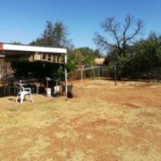Backyard (title deed registered)