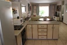 Kitchen and open-plan living areas