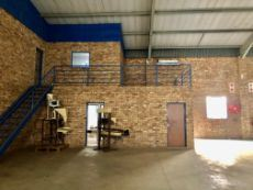 Warehouse ablutions downstairs. Office access to warehouse