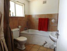 Ground Floor:  Full Bathroom (bath & shower).