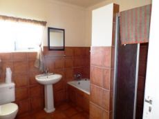 1st Floor:  Full Bathroom (with bath & shower).