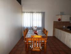 1st Floor:  Dining Area (open plan with Kitchen).