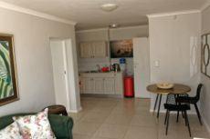Flat 2 living area towards kitchen