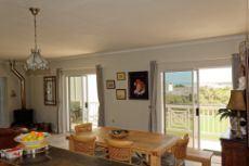 From top floor kitchen towards ocean facing balcony