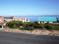 Permanent View slightly to the left;  Hermanus coastline at the back.