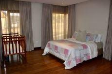 2nd Bedroom with study nook and en-suite bathroom.
