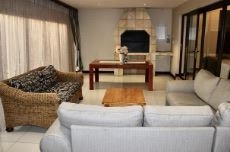 Entertainment area with built-in braai.