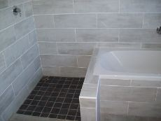 on-suite bath and shower