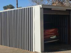 Electronic garage door