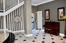 Entrance hall off dining area