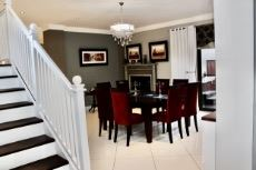 Staircase from 1st floor into dining area