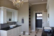 Main bathroom close-up of vanity