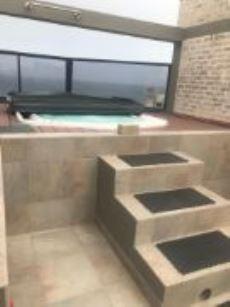 Jaquzzi - roof terrace