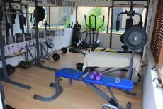 Completely fitted gym