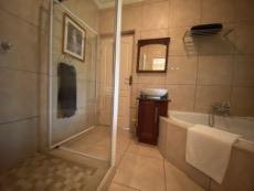 Bathroom 1 with door to south facing bedroom