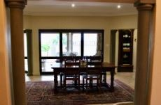 Dining area from entrance hall