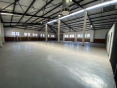 822m2 Warehouse space