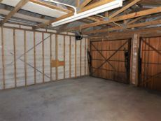 Very LARGE double Garage.