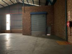 Roller door for easy access into the warehouse.