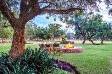 Main lodge garden