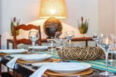 Main lodge dining table