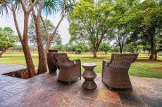 Main lodge private veranda