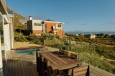 Sea facing deck with pool