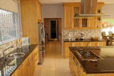 Kitchen to scullery & garage