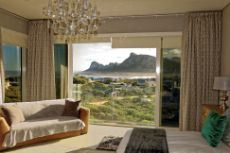Main bedroom with amazing views over False Bay