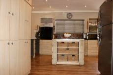 Kitchen with built-in cupboards