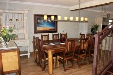 Dining area from entry way