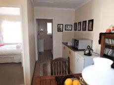 1st Floor: Kitchenette of 1st Living Area;  Bathroom at the back.