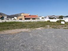 Our Plot directly in front of us (on our side of the red-roofed house).