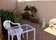 Private backyard (pot plants and furniture excluded from sale)