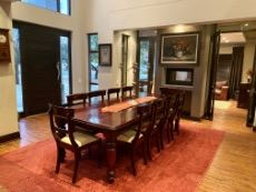 Dining room with access to formal lounge