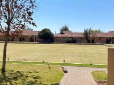 Bowling green next to club house