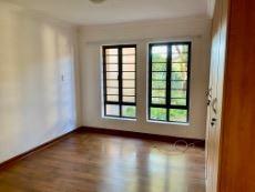 Main bedroom with laminate flooring