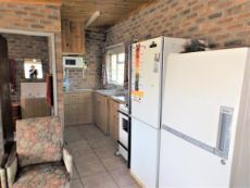 Kitchen at the back.