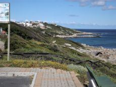Our coastline (in the direction of Gansbaai) - as from across the Road.