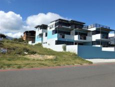 Upmarket Dwelling directly next to us - on the side of Gansbaai. Our Plot on the left.