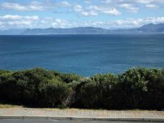 Sea View (directly to the front) - as from our Sea front Plot. Hermanus at the back.