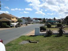 Houses (on our side of Road) - in the direction of Hermanus.