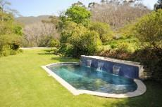12 metre pool with water features.