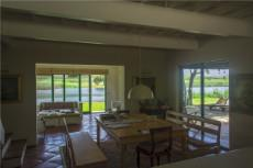View from dining room towards river